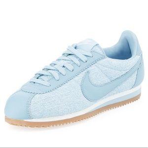 Light Blue Nike Cortez! (Like New)